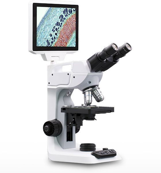 GX Microscopes' New AS Series Unique Digital LCD Microscopes