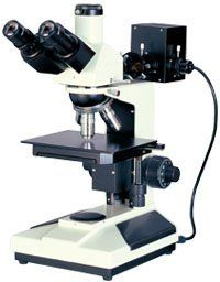 GXM-L2003AHTG 40X-400X, Trinocular, Routine Material Microscope, Reflected Light